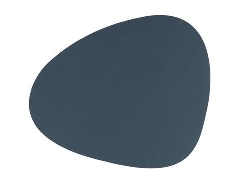 Подстановочная салфетка фигурная 37x44 см LindDNA Nupo dark blue 982474
