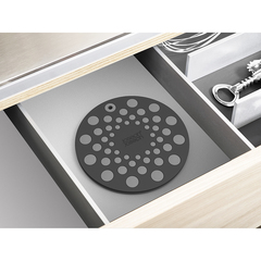 Набор из 2 подставок под горячее Joseph Joseph Spot-On Set силикон, серый 20174