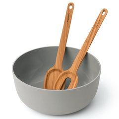 Миска для салата (24*10см) с сервировочними приборами (30*6см) Leo BergHOFF 3950096