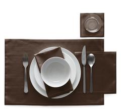Сервировочные маты в рулоне 45х32см (12шт) My Drap Chocolate IA48/601-7