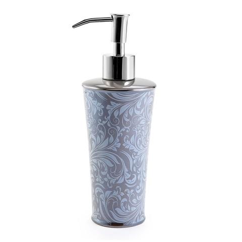 Дозатор для жидкого мыла Kassatex Bedminster Scroll Flint Grey ATB-LD-FLG