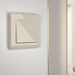 Рамка на 1 пост (слоновая кость) WL04-Frame-01-ivory Werkel