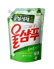 Жидкое средство для стирки Wool Shampoo ЖАСМИН 1300 мл (запаска) 269282