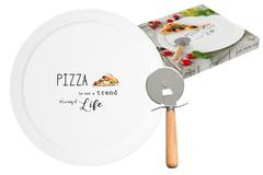 Набор для пиццы: блюдо и нож Kitchen Elements в подарочной упаковке Easy Life AL-56214