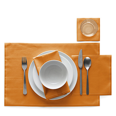 Сервировочные маты в рулоне 45х32см (12шт) My Drap Orange IA48/902-7