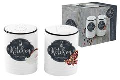 Набор для специй: солонка и перечница Кухня в стиле Ретро Easy Life AL-54640