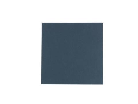 Подстаканник квадратный 10x10 см LindDNA Nupo dark blue 982498