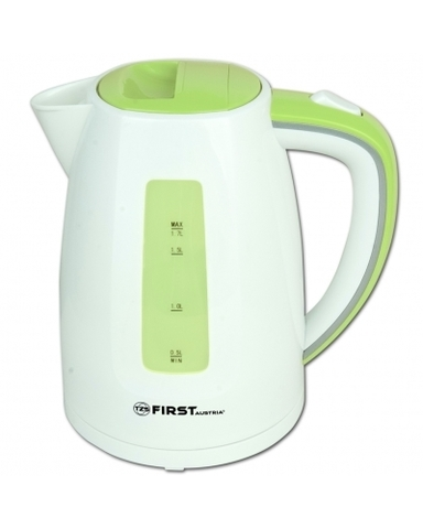 Чайник 1,7л FIRST FA-5427-7 White/Green