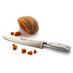 Нож кухонный стальной Шеф 20 см ARCOS Riviera Blanca арт. 233624W