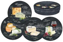 Набор из 4-х десертных тарелок Мир сыров Easy Life AL-46545