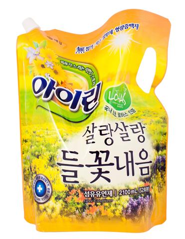 Кондиционер для белья IRIN Полевые цветы 2,1л (мягкая уп.) 872765