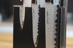 Комплект из 6 ножей Samura Kaiju и подставки