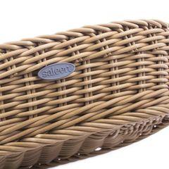 Менажница 22,5х16,5 см, h 5, 5 см, в бежевой корзинке Westmark Saleen арт. 021016 041 60