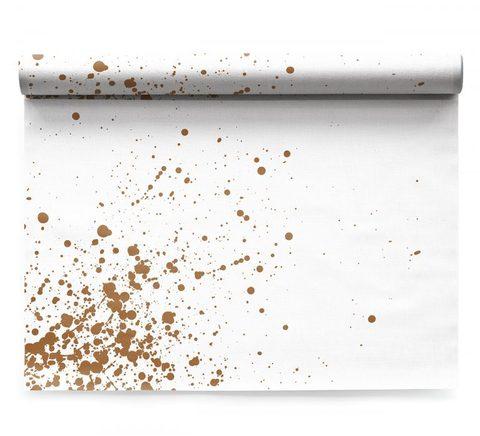 Сервировочные маты в рулоне 48х32см (6шт) My Drap Linen Golden Splash ILA48N2/101-11