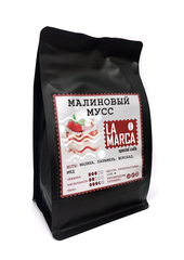 Малиновый мусс (зерновой кофе)