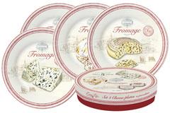Набор из 4-х тарелок FROMAGE в подарочной упаковке Easy Life AL-56934