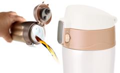 Термокружка Asobu Diva cup (0,45 литра) коричневая V600 brown-chocolate