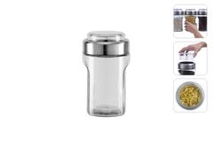 Ёмкость для сыпучих продуктов с мерным стаканом, 1,55 л, Nadoba, PETRA 741011