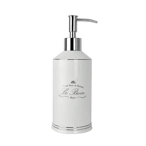 Дозатор для жидкого мыла Kassatex Le Bain White ALB-LD-W