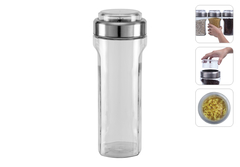 Ёмкость для сыпучих продуктов с мерным стаканом, 2 л, Nadoba, PETRA 741010