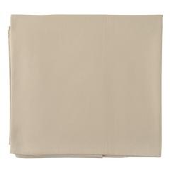 Скатерть из хлопка бежевого цвета из коллекции Essential, 170х170 см Tkano TK20-TC0004