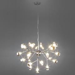 Подвесная люстра со стеклянными плафонами Bogate's Lamella 554
