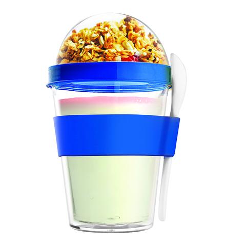 Контейнер Asobu Yo2go improved (0,36 литра) голубой YO2GOS blue