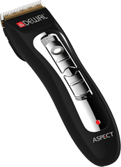 Машинка для стрижки Dewal Aspect, аккум/сетевая, 4 насадки, черная* 03-031