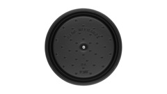 Кокот Staub круглый, 24 см, 3,8 л, черный 1102425