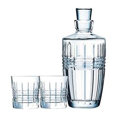Набор из 2-х стаканов и графина 320 мл Cristal d'Arques Rendez-Vous P4282