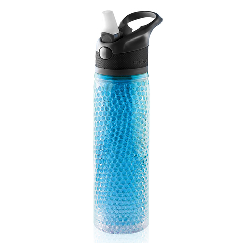 Термобутылка Asobu Deep freeze (0,6 литра) голубая