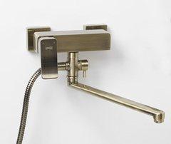 Exter 1602L Смеситель для ванны с длинным изливом WasserKRAFT Серия Exter 1600
