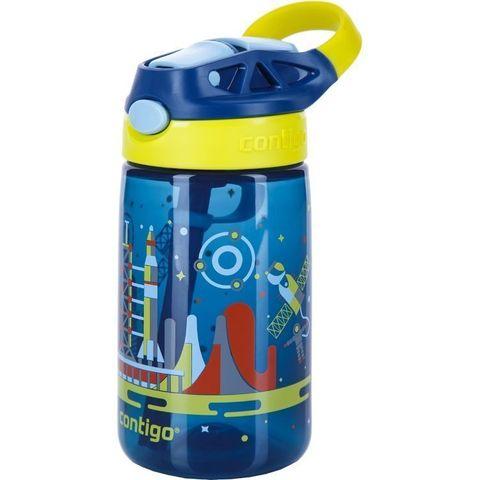 Детская бутылочка Contigo для воды «Gizmo Flip» (0,42 литра), синяя