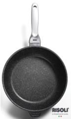 Литая глубокая сковорода Risoli Granito Premium Induction 28см 01104GRIN/28