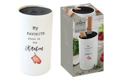 Подставка для ножей Kitchen Elements в подарочной упаковке Easy Life AL-56208