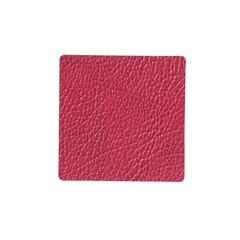 Подстаканник квадратный 10x10 см LindDNA HIPPO raspberry 983514