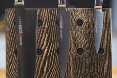 Комплект из 3 ножей Samura PRO-S и подставки