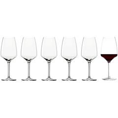 Набор из 6 бокалов для красного вина 645мл Stolzle Experience Bordeaux