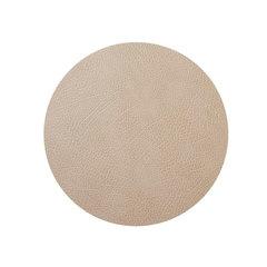 Подстановочная салфетка круглая 24 см LindDNA HIPPO sand 981315