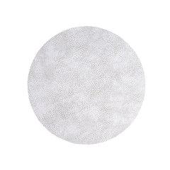 Подстановочная салфетка круглая 24 см LindDNA HIPPO white-grey 98928