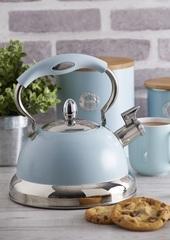 Чайник со свистком Living голубой TYPHOON 1401.164V