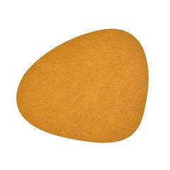 Подстановочная салфетка фигурная 37х44 см LindDNA HIPPO curry 981091
