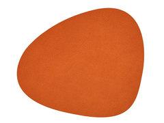 Подстановочная салфетка фигурная 37х44 см LindDNA HIPPO orange 981305