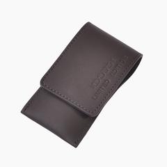 Маникюрный набор Dovo LE, 3 предмета, кожаный футляр (вол), цвет черный 4077056