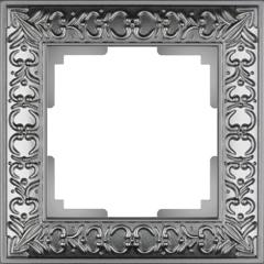 Рамка на 1 пост (матовый хром) WL07-Frame-01 Werkel