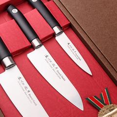 Набор из 3 кухонных ножей SATAKE SWORDSMITH HG8323