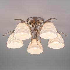 Потолочный светильник Eurosvet Megan 30121/5 сатин-никель