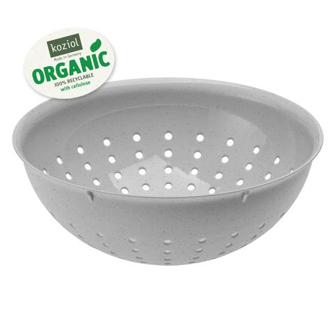Дуршлаг PALSBY M Organic, 2 л, серый Koziol 3806670