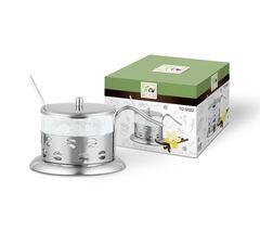 Сахарница 200мл TECO TC-S022-2((кофе)