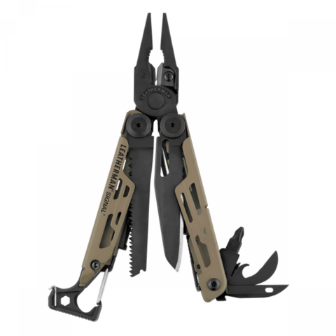 Мультитул Leatherman Signal Coyote, 19 функций MV-832404